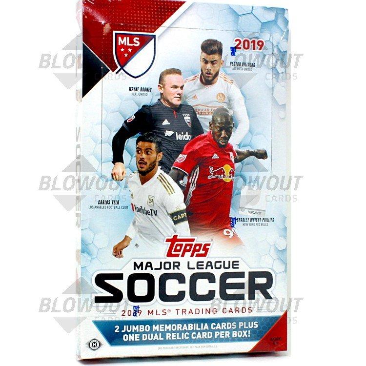 Hobby Box MLS 2017//18 Topps Major League Soccer