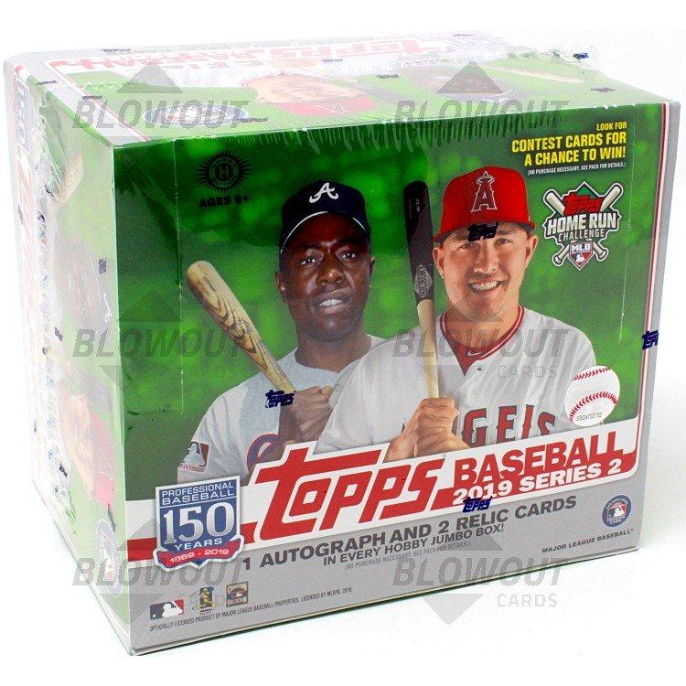 2019 Topps Series 2 Baseball Jumbo Box