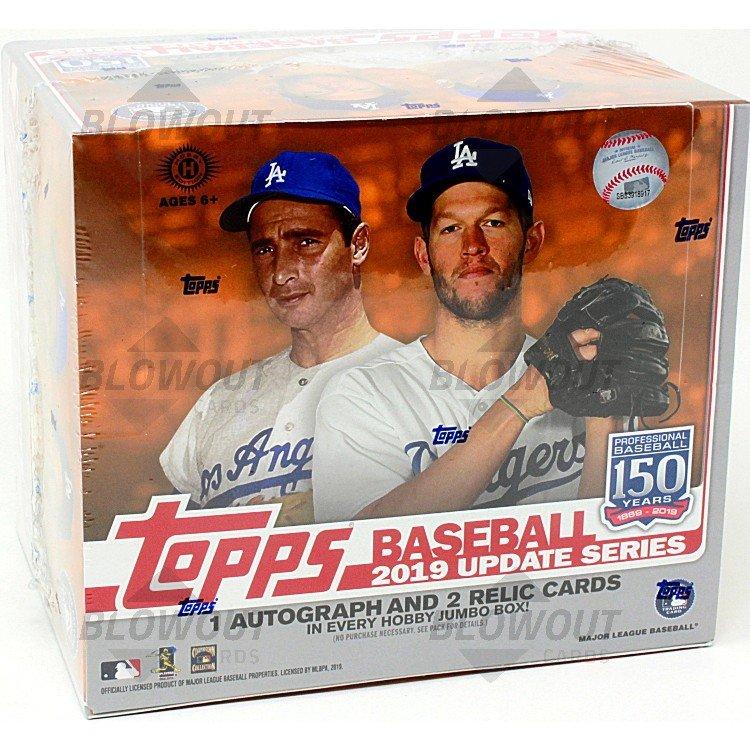 2019 Topps Update Series Baseball Factory Sealed Jumbo Box