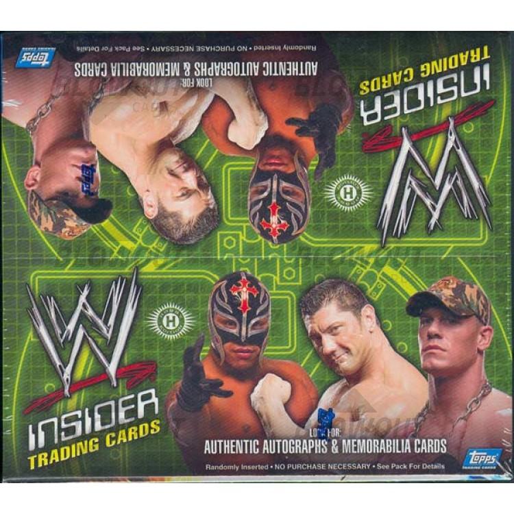 2006 Topps WWE Insider Wrestling Hobby Box