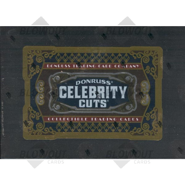 Donruss Celebrity Cuts Set for Release - Sports Card and ...