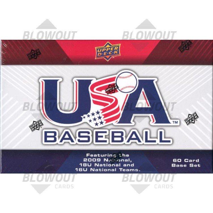 2010 Usa National Teams 2009 Team Baseball Box Set