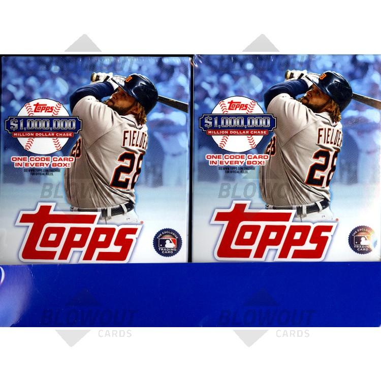 2013 Topps Series 1 Baseball Hanger Pack Box