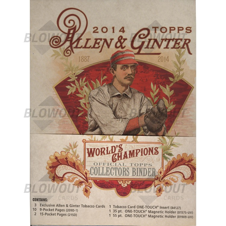2014 Topps Allen & Ginter Baseball Binder