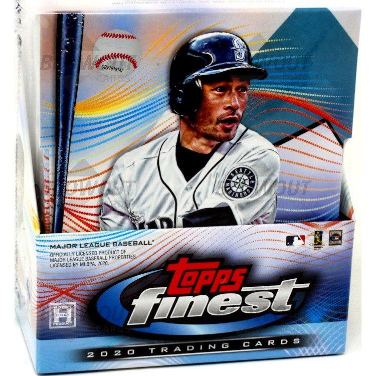 2020 Topps Finest Baseball Factory Sealed Hobby Box