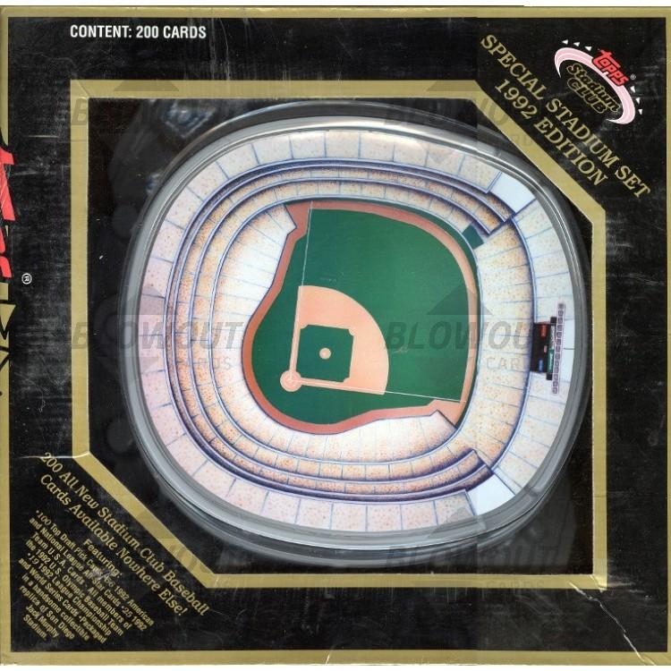 1992 Topps Stadium Club Baseball Special Stadium Set Jeter Rc