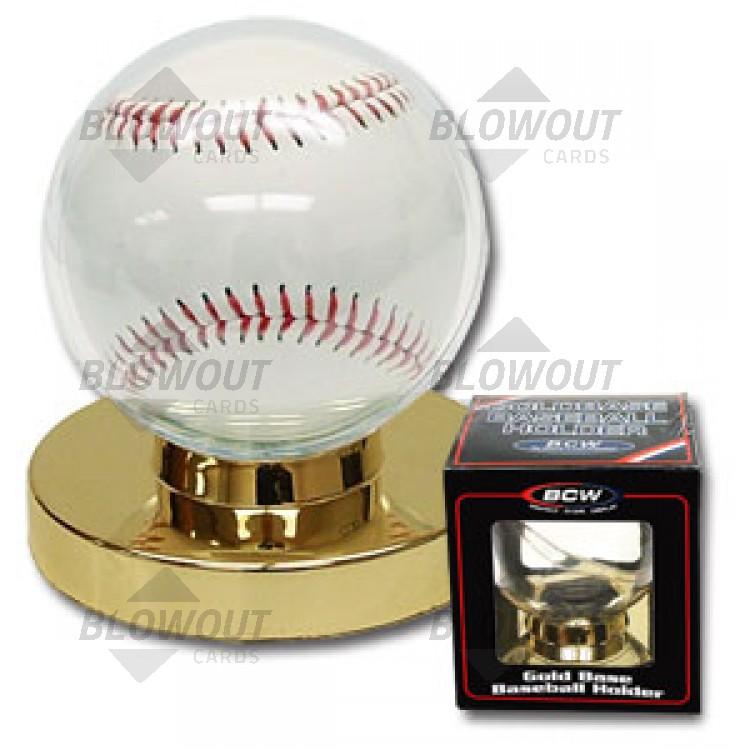 Bcw Gold Base Baseball Holder Goldbh I