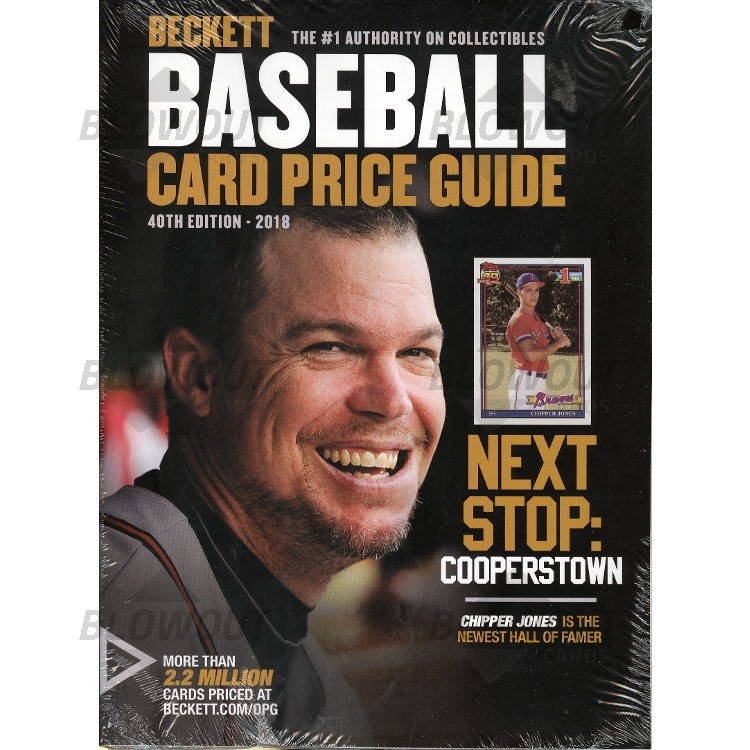 Beckett Baseball Price Guide 40 2018 Edition