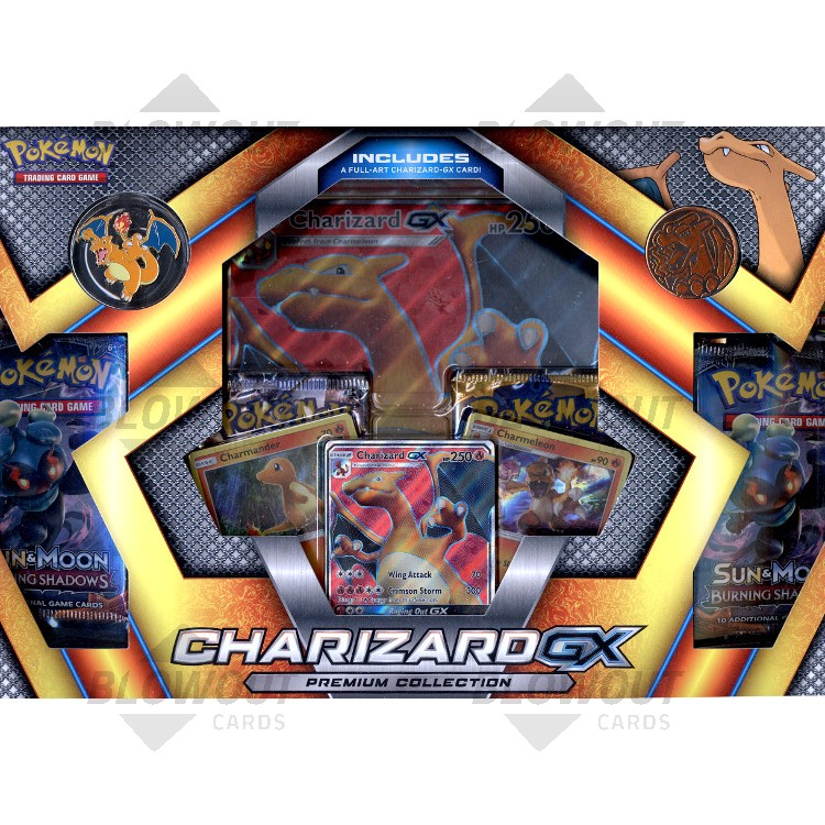 Pokemon Charizard Gx Premium Collection Box