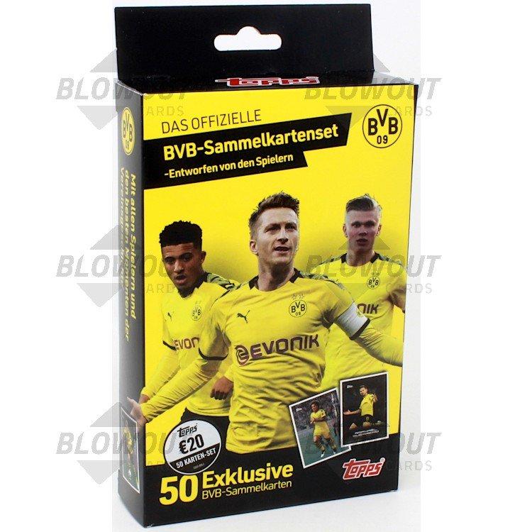 2020 Topps Bvb Dortmund Soccer Set Box
