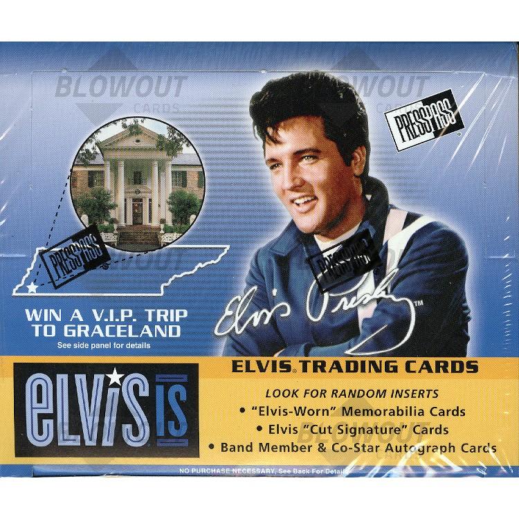 2007 Press Pass Elvis Is Retail 20 Box Case