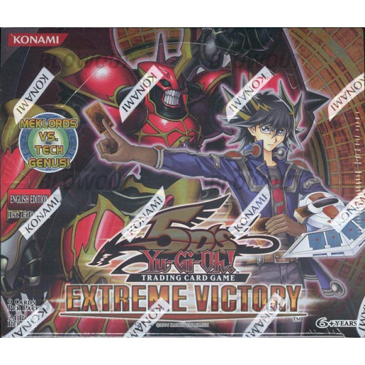 YUGIOH Extreme Victory English 1st Edition Booster Box Blowout Cards Sealed Pack