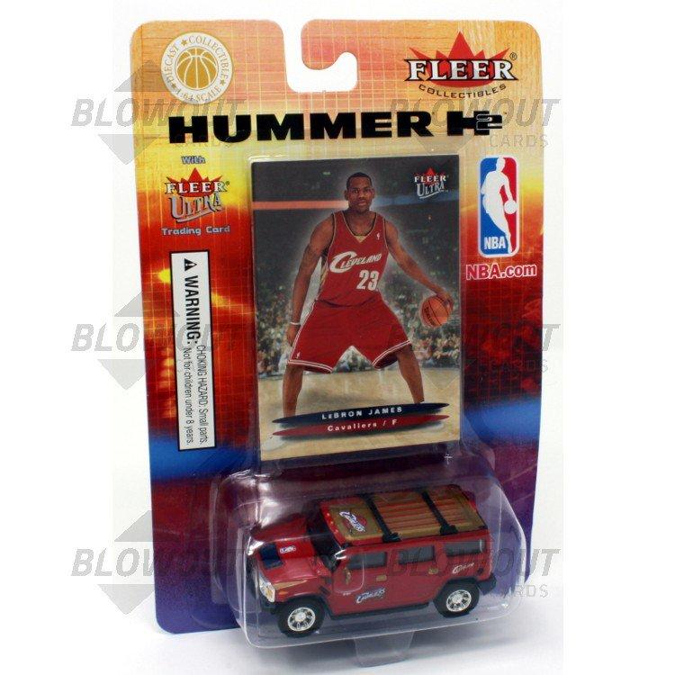 cb16572b268f 2003 04 Fleer Ultra LeBron James RC + Hummer H2 Toy Car · Zoom