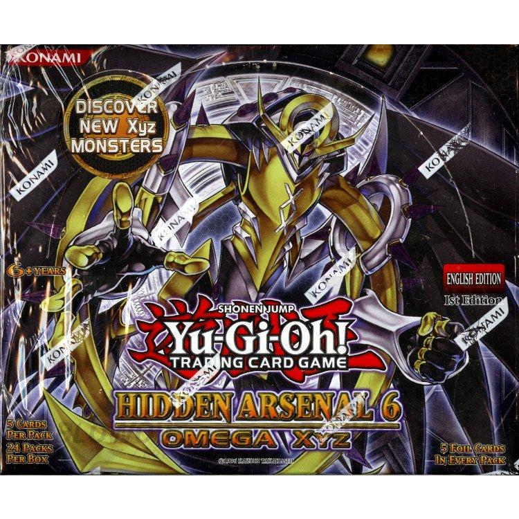 Yugioh Hidden Arsenal 6 Omega Xyz Booster Box