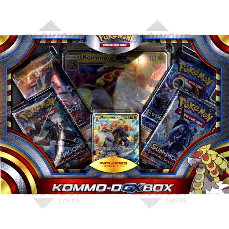 Pokemon Kommo O Gx Box