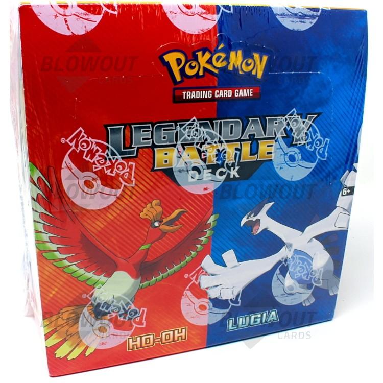 Pokemon Ho-Oh/Lugia Legendary Battle Deck - 8 Box Case