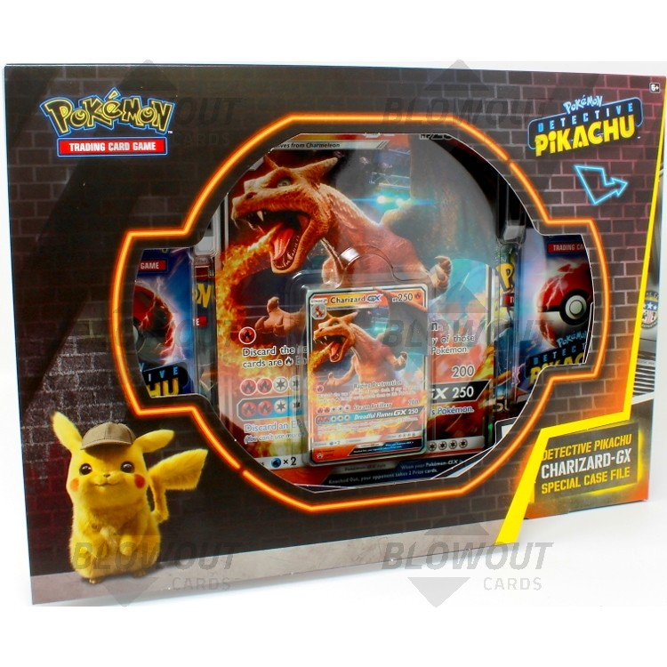 Pokemon Detective Pikachu Charizard Gx Special Case File