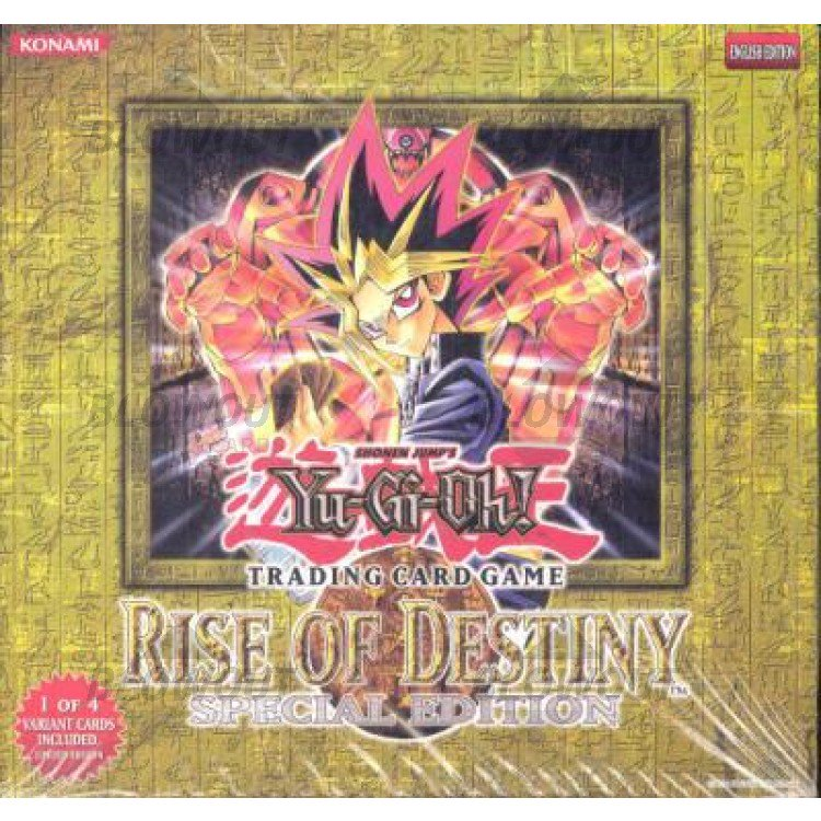 YuGiOh Rise of Destiny 1st EDITION Booster Pack