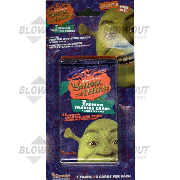 Shrek The Third Inkworks 2 Pack Blister Pack