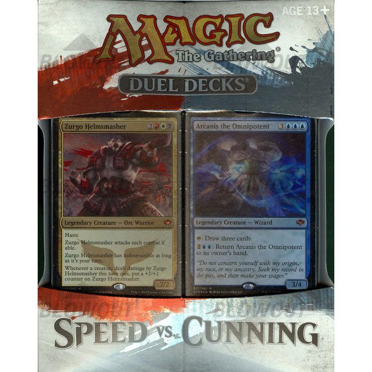 Duel Decks Speed Vs Cunning Magic The Gathering: Magic The Gathering Duel Decks Speed Vs. Cunning Box