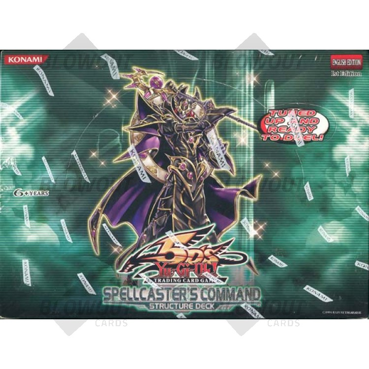 Yugioh Spellcaster's Command Structure Deck Box