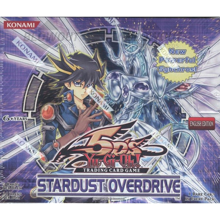 New Yu-Gi-Oh 1x Stardust Overdrive Boster Pack
