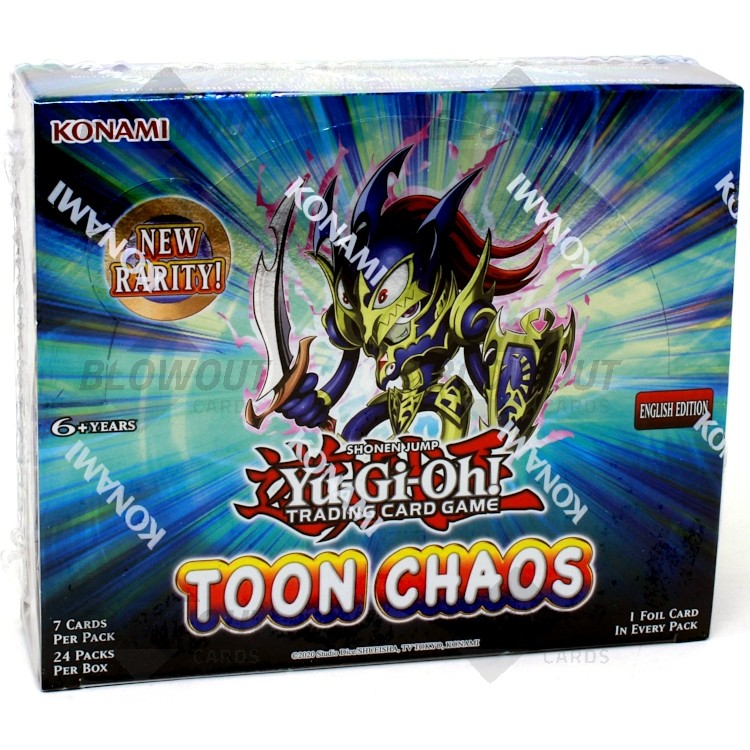 Toon Chaos UNL Edition Box x24 Booster Packs YuGiOh