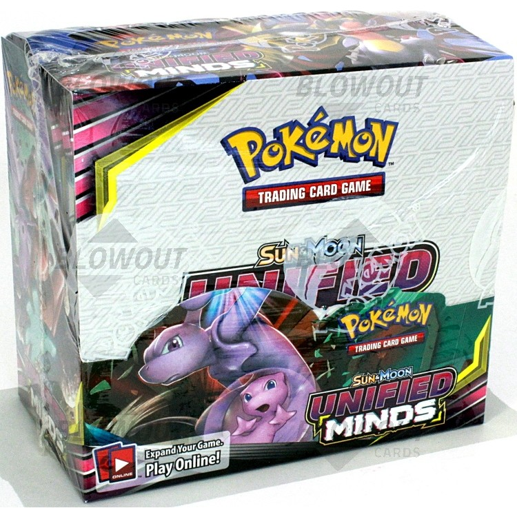 NEW Pokemon TCG Sun and Moon Unified Minds 4 Booster Packs!