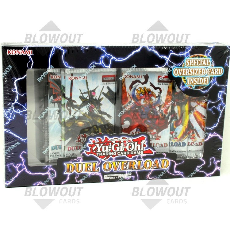 Duel Overload Box 1st Edition Yu-Gi-Oh!