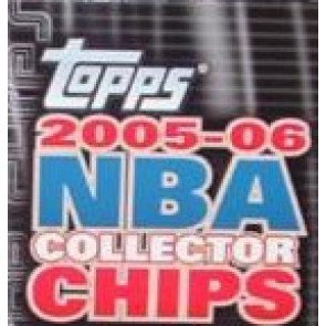 2005/06 Topps Collector Chips Basketball Pack