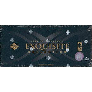 2006/07 Upper Deck Exquisite Collection Basketball 3 Box Case