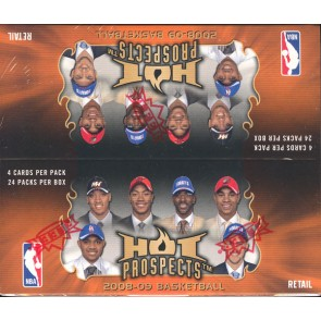 2008/09 Fleer Hot Prospects Basketball Retail 20 Box Case