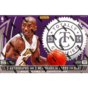 2013/14 Panini Totally Certified Basketball Hobby 12 Box Case