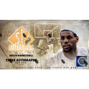 2013/14 Upper Deck SP Authentic Basketball Hobby 12 Box Case