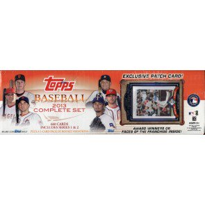 2013 Topps Baseball Factory Set - Retail