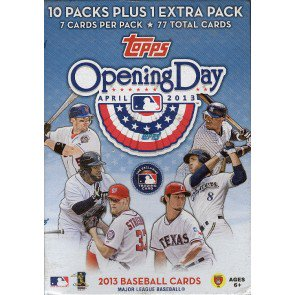2013 Topps Opening Day Baseball Blaster Box