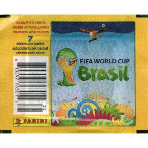 2014 Panini World Cup Soccer Stickers 100 Pack Lot
