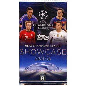 2016 Topps UEFA Champions League Showcase Soccer Pack