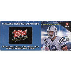 2015 Topps Football Factory Set - Retail