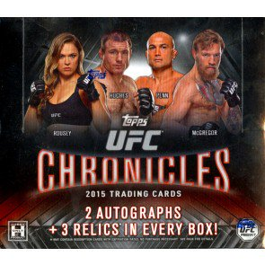 2015 Topps UFC Chronicles Hobby 6 Box Case