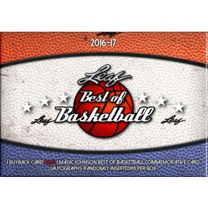 2016/17 Leaf Best of Basketball 5 Box Case