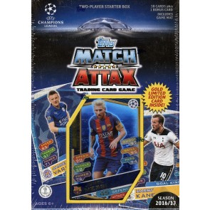 2016/17 Topps UEFA Champions League Match Attax Soccer Starter Box