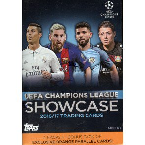 2016/17 Topps UEFA Champions League Showcase Soccer Blaster Box