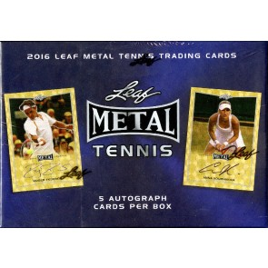 2016 Leaf Metal Tennis Box