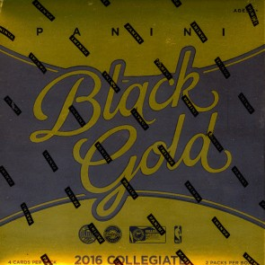 2016/17 Panini Black Gold College Basketball Hobby 8 Box Case