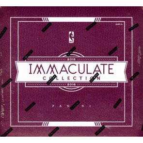 2015/16 Panini Immaculate Basketball Hobby 5 Box Case