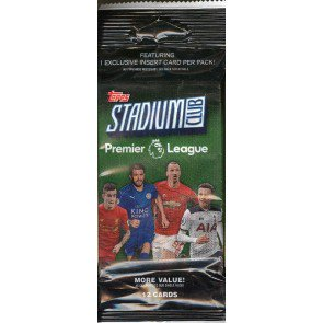 2016 Topps Stadium Club Premier League Soccer Fat Pack