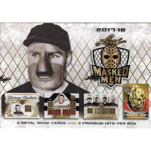 2017/18 Leaf Masked Men Hockey Box