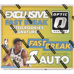 2017/18 Panini Donruss Optic Basketball Fast Break 20 Box Case