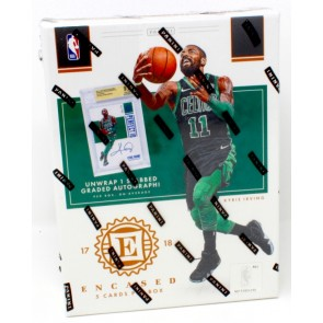 2017/18 Panini Encased Basketball Hobby 8 Box Case